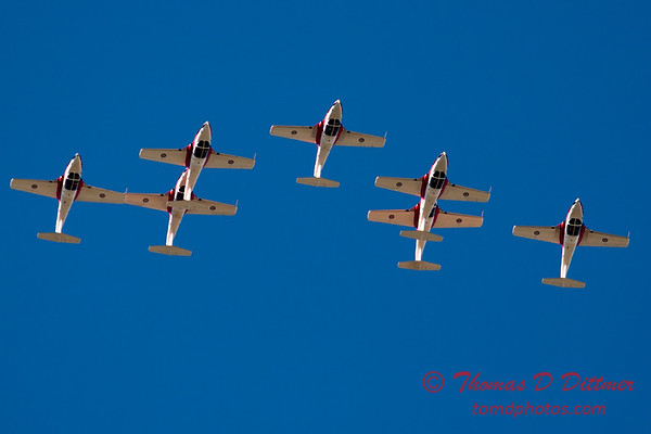 1598 - The RCAF Snowbirds performance at Wings over Waukegan 2012