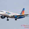 55 - Allegiant Airways approaches Runway 29 for landing at Central Illinois Regional Airport - Bloomington Illinois - Sunday March 9th 2014