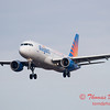 53 - Allegiant Airways approaches Runway 29 for landing at Central Illinois Regional Airport - Bloomington Illinois - Sunday March 9th 2014