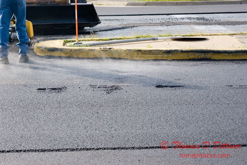 City of Bloomington - Towanda Ave between Empire St and Emerson Ave - 1st lift of paving - Thursday July 10 2008 - 43