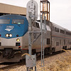2011 - Southbound Amtrak Train -  Normal Illinois - 3/7 - 19
