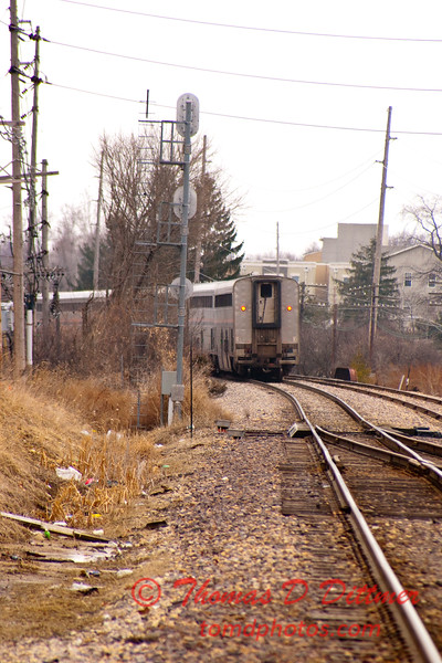 2011 - Southbound Amtrak Train -  Normal Illinois - 3/7 - 34