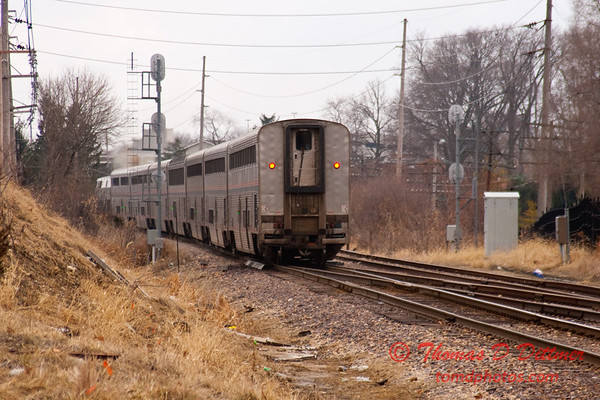 2011 - Southbound Amtrak Train -  Normal Illinois - 3/7 - 30