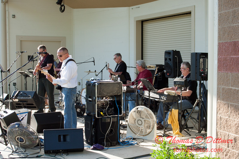 Marc Boon & The Unknown Legends - Connie Link Ampitheater - Normal Illinois