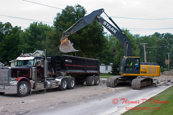 2010 - Willow Street Reconstruction - Normal Illinois - Tuesday July 13th - 36