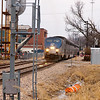 2011 - Southbound Amtrak Train -  Normal Illinois - 3/7 - 5