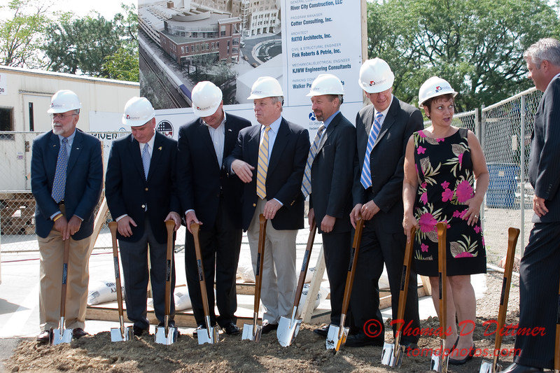 2010 - MultiModal Transportation Center Ground Breaking Ceremony - Uptown Normal Illinois - Saturday August 7 - 60