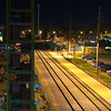 2011 - 4/2 - Amtrak Train Station at night in Uptown Normal Illinois - 1