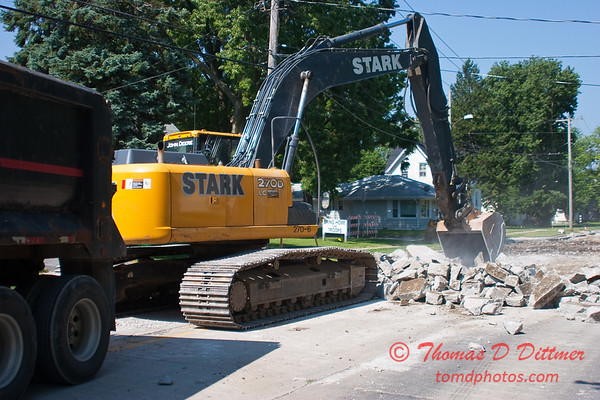 2010 - Willow Street Reconstruction - Normal Illinois - Wednesday July 14th - 18