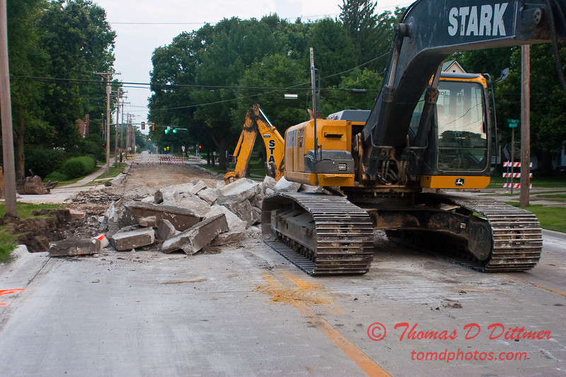 2010 - Willow Street Reconstruction - Normal Illinois - Tuesday July 13th - 3