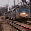 2011 - Southbound Amtrak Train -  Normal Illinois - 3/7 - 3