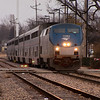 2011 - Southbound Amtrak Train -  Normal Illinois - 3/7 - 1