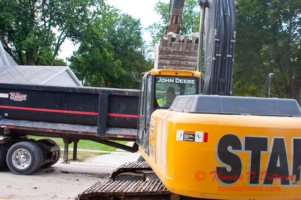 2010 - Willow Street Reconstruction - Normal Illinois - Tuesday July 13th - 26