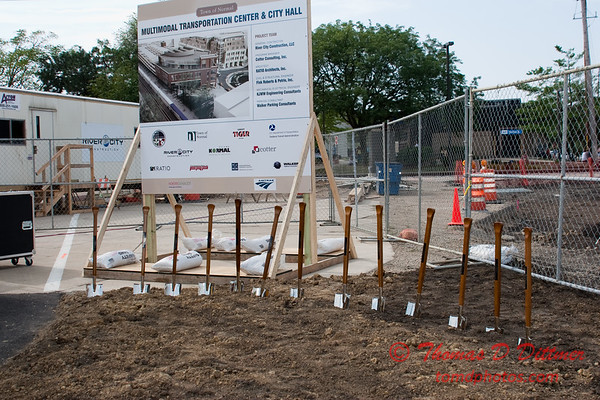 2010 - MultiModal Transportation Center Ground Breaking Ceremony - Uptown Normal Illinois - Saturday August 7 - 10