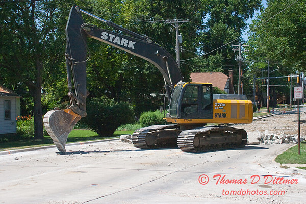 2010 - Willow Street Reconstruction - Normal Illinois - Monday July 12th - 1