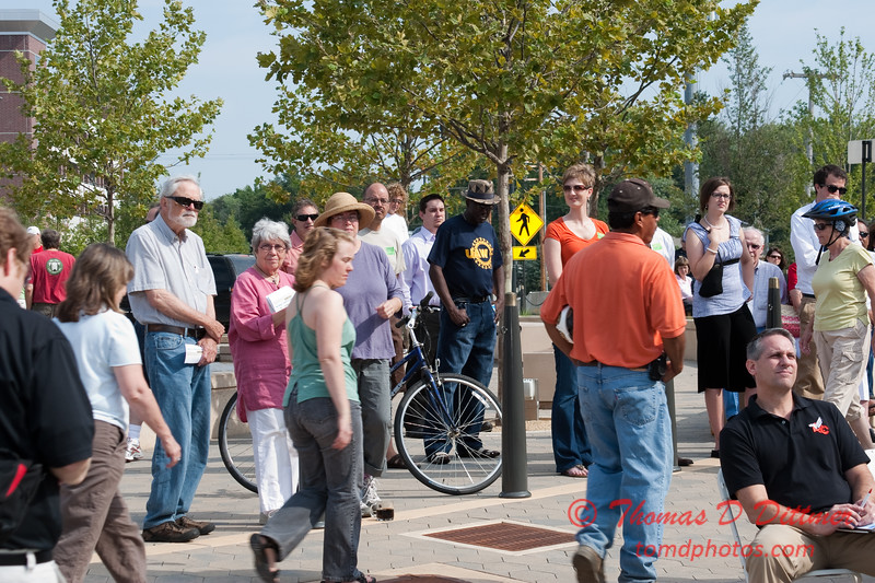 2010 - MultiModal Transportation Center Ground Breaking Ceremony - Uptown Normal Illinois - Saturday August 7 - 35