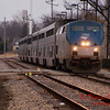 2011 - Southbound Amtrak Train -  Normal Illinois - 3/7 - 2
