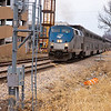 2011 - Southbound Amtrak Train -  Normal Illinois - 3/7 - 17
