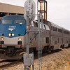 2011 - Southbound Amtrak Train -  Normal Illinois - 3/7 - 18