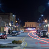 2011 - 4/1 - Night time in Uptown Normal Illinois - 4