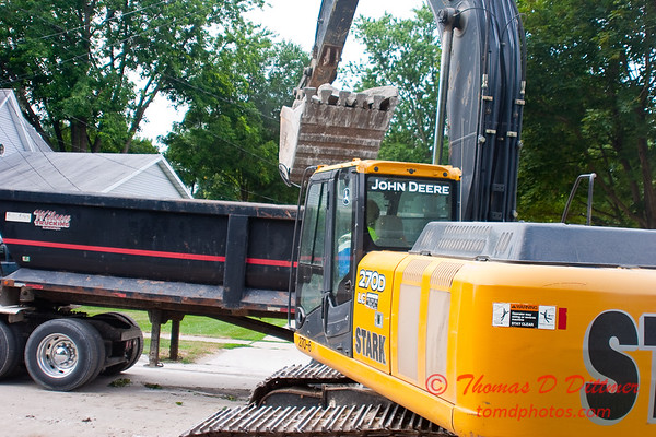 2010 - Willow Street Reconstruction - Normal Illinois - Tuesday July 13th - 27