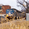 2011 - Southbound Amtrak Train -  Normal Illinois - 3/7 - 13