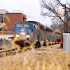 2011 - Southbound Amtrak Train -  Normal Illinois - 3/7 - 14