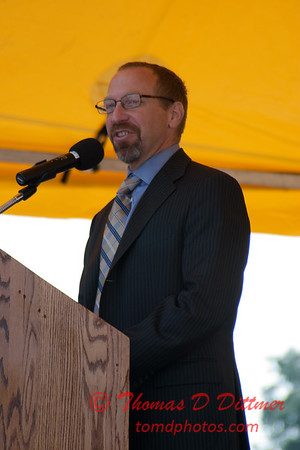 2010 - MultiModal Transportation Center Ground Breaking Ceremony - Uptown Normal Illinois - Saturday August 7 - 45