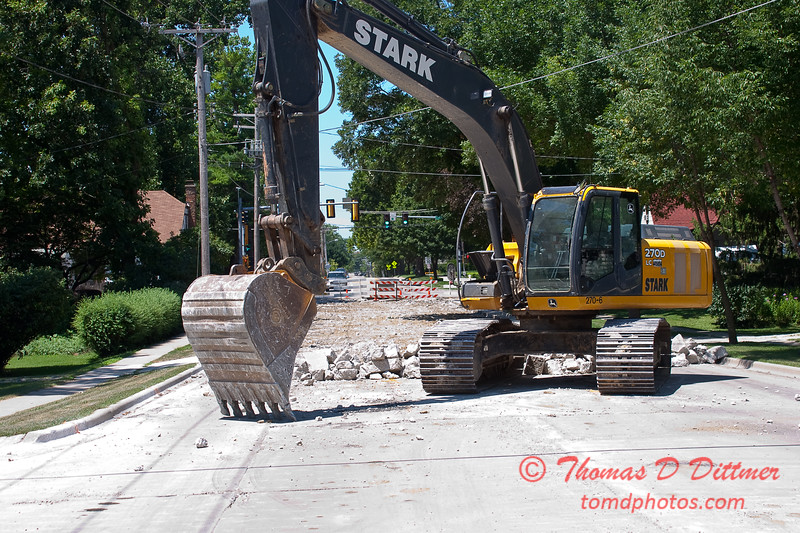 2010 - Willow Street Reconstruction - Normal Illinois - Monday July 12th - 3