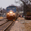 2011 - Southbound Amtrak Train -  Normal Illinois - 3/7 - 4