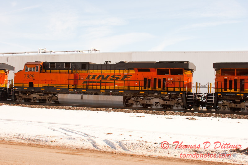 2011 - BN & SF Railroad - 2/12