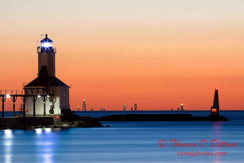 Sunset - Washington Park - Michigan City Indiana - #8
