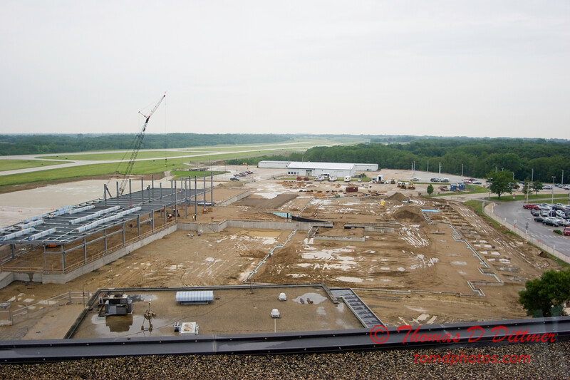 New Construction Site - General Wayne A Downing Peoria International Airport - June 3  2009 - 3