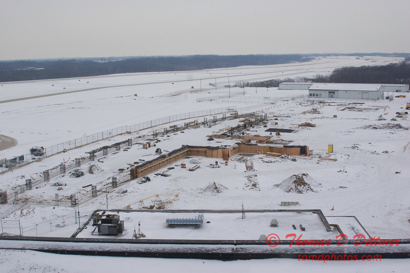New Construction Site - General Wayne A Downing Peoria International Airport - January 27 2009 - 1
