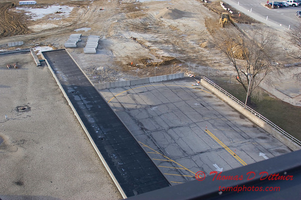 New Construction Site - General Wayne A Downing Peoria International Airport - January 4 2009 - 6