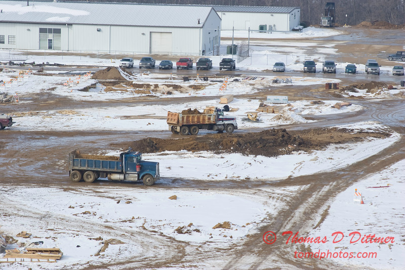 New Construction Site - General Wayne A Downing Peoria International Airport - January 22 2009 - 2