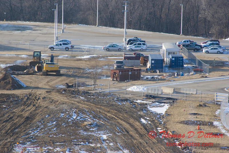 New Construction Site - General Wayne A Downing Peoria International Airport - February 23 2009 - 7