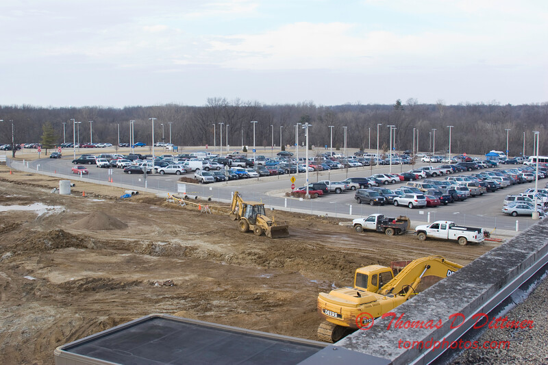New Construction Site - General Wayne A Downing Peoria International Airport - February 9 2009 - 8