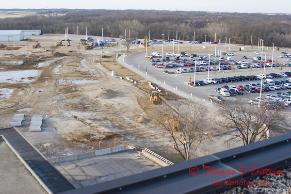 New Construction Site - General Wayne A Downing Peoria International Airport - January 4 2009 - 5