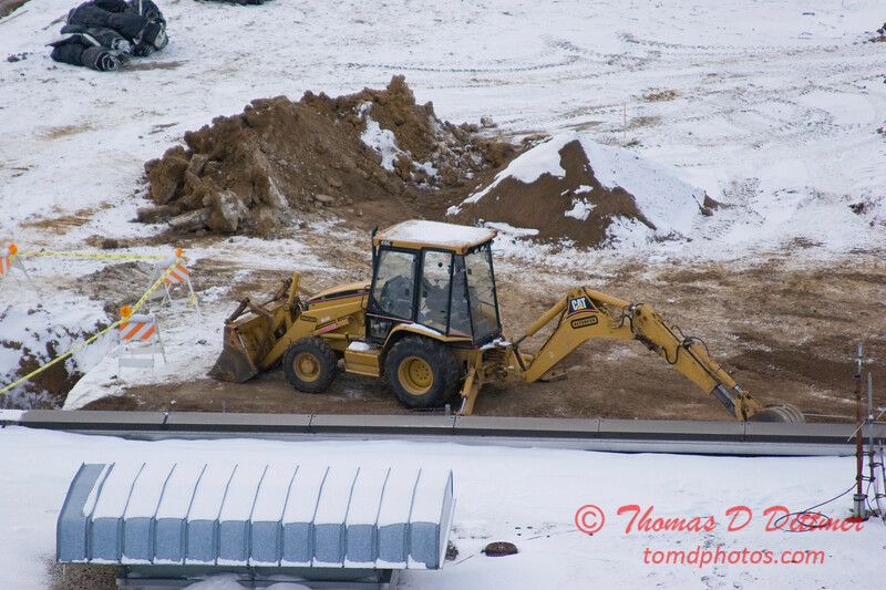 New Construction Site - General Wayne A Downing Peoria International Airport - January 19 2009 - 6