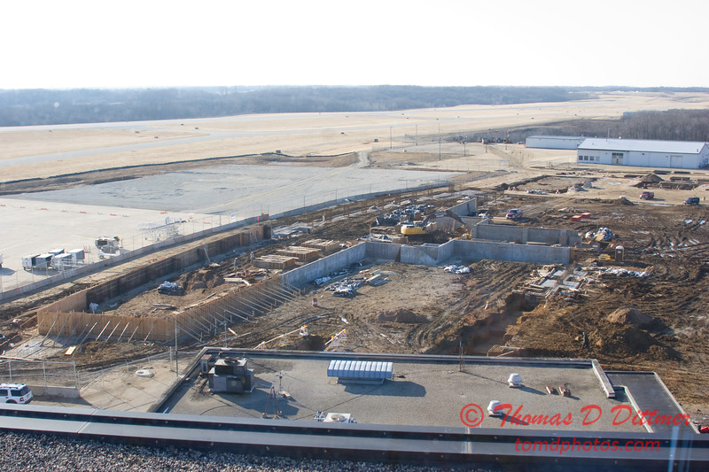 New Construction Site - General Wayne A Downing Peoria International Airport - February 16 2009 - 9