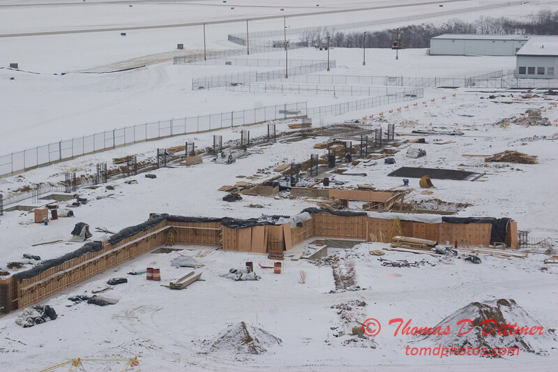 New Construction Site - General Wayne A Downing Peoria International Airport - January 27 2009 - 10
