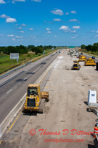 2010 - I-55 Construction - Normal Illinois - Monday July 12th - 38