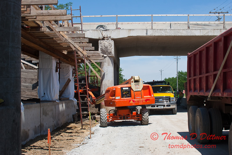 2010 - I-55 Construction - Normal Illinois - Monday July 12th - 11