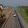 2010 - Interstate 55 Construction - Normal Illinois - April 22nd - 3