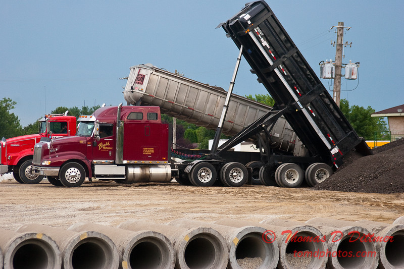 2010 - Roadbed Recycling - Normal Illinois - Wednesday July 19th - 9