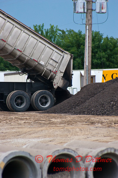 2010 - Roadbed Recycling - Normal Illinois - Wednesday July 19th - 12