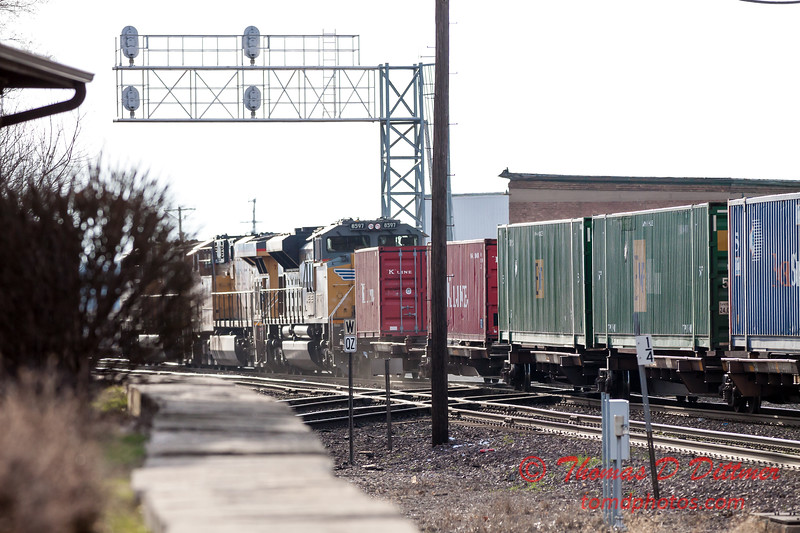 Train Spotting from Rochelle Railroad Park - #184