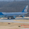 Air Force 1 arrives at General Wayne A Downing Peoria International Airport - February 12 2009 - 37