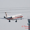 49 - American Eagle approaches Runway 20 for landing at Central Illinois Regional Airport - Bloomington Illinois - Sunday March 9th 2014